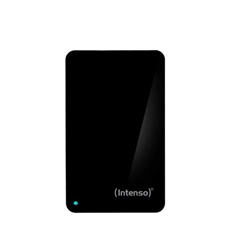 Intenso Memory Case 2 TB Externe Festplatte (6,35 cm (2,5 Zoll) 5400 U/min, 8 MB Cache, USB 3.0) schwarz