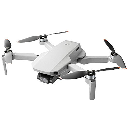 DJI Mini 2 - Ultraleichter und faltbarer Drohnen-Quadkopter, 3-Achsen-Gimbal mit 4K-Kamera, 12MP Foto, 31 Minuten Flugzeit, OcuSync 2.0 HD-Videoübertragung, Mavic Mini, QuickShots mit DJI Fly App*