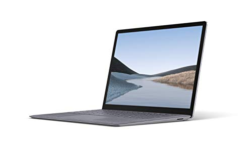 Microsoft Surface Laptop 3, 13,5 Zoll Laptop (Intel Core i5, 8GB RAM, 256GB SSD, Win 10 Home) Platin