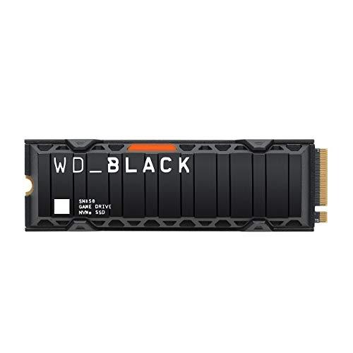 WD Black SN850 - NVMe M.2 SSD 500GB