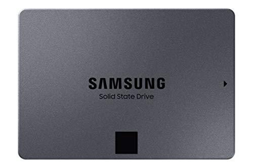 Samsung 870 QVO 1TB SATA 2,5 Zoll Internes Solid State Drive (SSD) (MZ-77Q1T0BW)