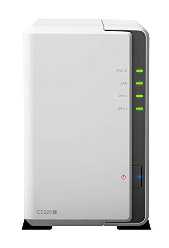 Synology DiskStation DS220j 4TB Bundle NAS-Server 2-Bay und 2X 2TB HDDs