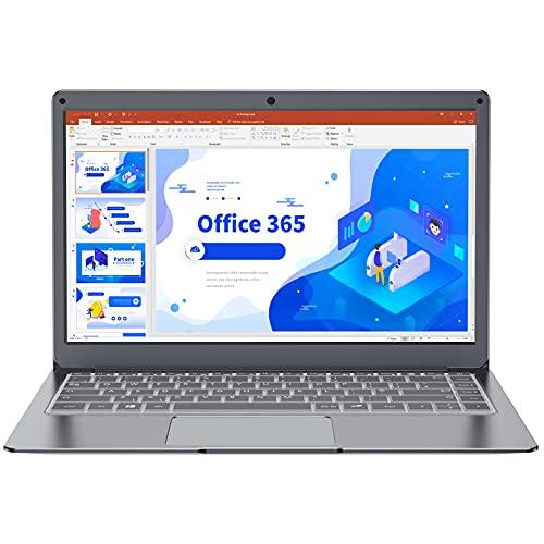 Jumper Laptop(13.3 Zoll FHD Notebook 4GB RAM 64GB eMMC Intel Celeron CPU Windows 10 Computer PC MS Office Dualband WLAN, USB 3.0 Unterstützt 256GB TF Karte und 1TB SSD Erweiterung)