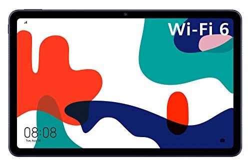 HUAWEI MatePad Wi-Fi 6 10,4 Zoll, 2K FullView Display, Wifi Tablet-PC, HUAWEI Share, eBook Modus, 4 GB RAM, 64 GB ROM, Betriebssystem EMUI 10 mit Huawei Mobile Services (HMS), Midnight Gray