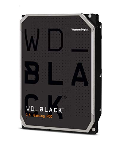WD Black 4TB Performance Desktop Hard Disk Drive - 7200 RPM SATA 6 Gb/s 64MB Cache 3.5 Inch