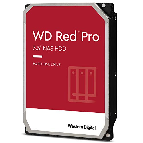WD Rot Pro 4TB 3.5' NAS Interne Festplatte - 7200 RPM - WD4003FFBX