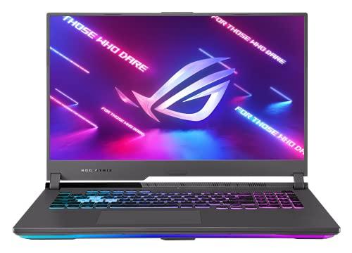 ASUS ROG Strix G17 G713QM Laptop 43,9cm (17,3 Zoll, FHD, 1920x1080, 144 Hz) Gaming-Notebook (AMD R7-5800H, 16GB RAM, 512GB SSD, NVIDIA GeForce RTX3060, Win10H) Eclipse Gray