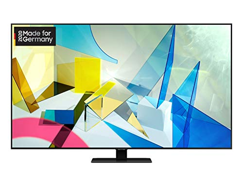 Samsung QLED 4K Q80T 163 cm (65 Zoll) (Quantum Prozessor 4K, Direct Full Array, Quantum HDR 1500) [Modelljahr 2020]*