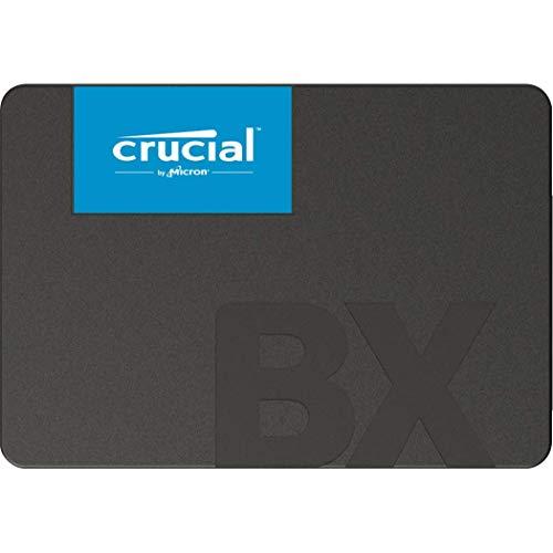 Crucial BX500 240GB CT240BX500SSD1-bis zu 540 MB/s Internes SSD (3D NAND, SATA, 2,5-Zoll)