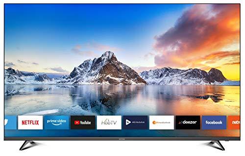 DYON Smart 55 XT 138,7 cm (55 Zoll) Fernseher (4K Ultra-HD Smart TV, HD Triple Tuner (DVB-C/-S2/-T2), Prime Video, Netflix & HbbTV) [Modelljahr 2020]*