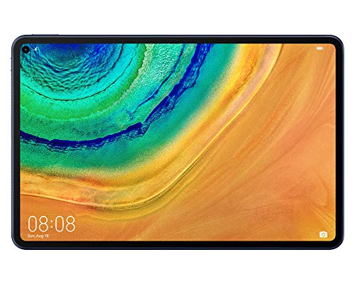 HUAWEI MatePad Pro WiFi Tablet-PC, 10,8 Zoll 2.5K FullView Display, Kirin 990, HUAWEI Share, 6GB RAM+128GB ROM, Betriebssystem EMUI 10 mit Huawei Mobile Services (HMS), Midnight Gray