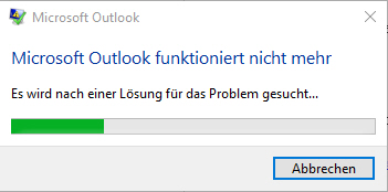 Outlook Crash