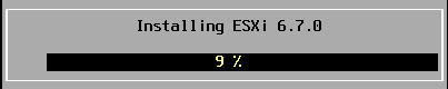 ESXi - Install