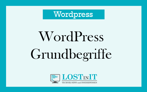 WordPress Grundbegriffe
