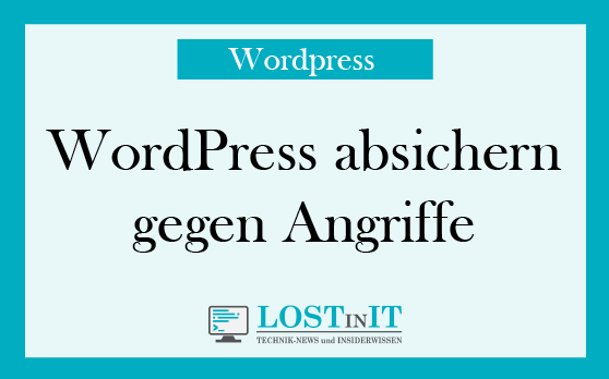 wordpress absichern gegen angriffe
