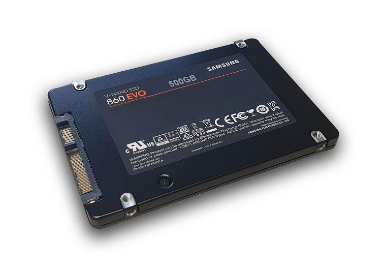 SSD Festplatte im Vorteil