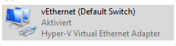 Default Switch Hyper-V