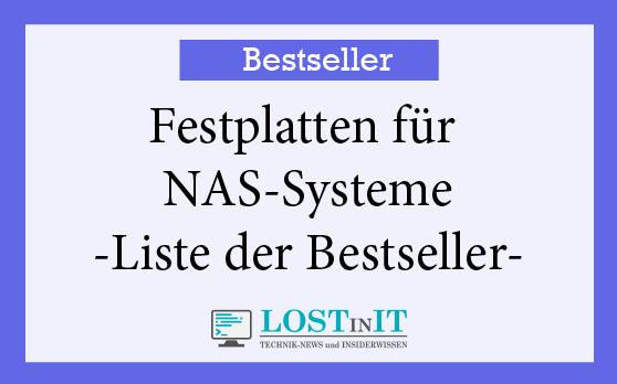 Bestseller NAS Festplatten