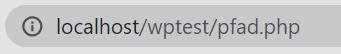 WordPress Pfad herausfinden